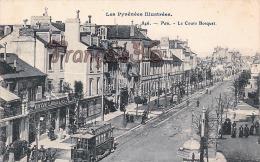 (64) Pau - Le Cours Bosquet - Pub Bénédictine Tramway - Trés Bon état - 2 SCANS - Pau