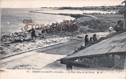 (33) Pointe De Grave - Le Port Bloc Et Les Forts -  Trés Bon état - 2 SCANS - France