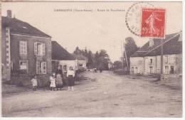 *** 52 -  DAMMARTIN - SUR - MEUSE ( 215 Habitants) - Route De  Bourbonne *** CPA Voyagée En 1918 Edts - Frankreich