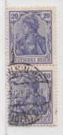 MiNr.87II.d O Deutschland Deutsches Reich - Usados