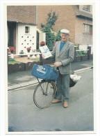 Sailly La Bourse 1991 Régis Lombart 59 Ans Colporteur De Journaux (photo F. Leroux) - Autres