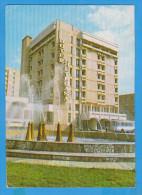 ROMANIA POSTAL STATIONERY POSTCARD BUZAU HOTEL PIETROASA - Hotels, Restaurants & Cafés
