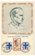 CPM - Louis Martin Bret (Résistance) - Marseille 1959 - 1950-59
