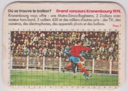 Sous-bocks :  FOOTBALL -  Kronenbourg  1974 - Sous-bocks