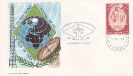 Vatican City 1969 Communications Souvenir Cover - Vatican