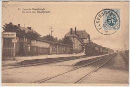 24529g TRAIN à VAPEUR - GARE - QUAI - CHEMIN De FER - Sourbrodt - Waimes - Weismes