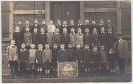 24600g  PHOTO De CLASSE - ECOLE - ELEVES - 3ème CLASSE - 1920 - Farciennes Centre - Carte Photo - Farciennes