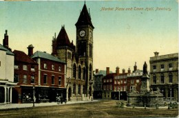 BERKS - NEWBURY - MARKET PLACE AND TOWN HALL 1920  Be44 - England