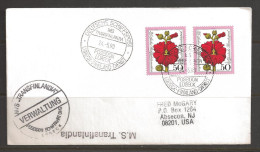 German Seapost, 1990 - Deutsche Schiffspost, Lubeck-Finnland-Dienst, 24.5.90 - [7] Repubblica Federale
