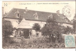 Saint-Priest-des-Champs (Saint-Gervais D'Auvergne-Riom-Puy-de-Dôme)-1905-La Croisette (Croizette)-exp. Vers Bacqueville - Saint Gervais D'Auvergne