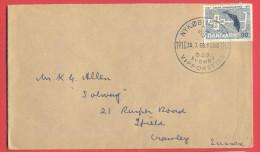 _5i_949:  NYKOBING ... Scouts 1918 -1968 - D.D.S. SYDHAV VIPPORETTEN + Fa.491 - 1864-04 (Christian IX)