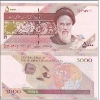 Iran - 5000 Rials Sat UNC Ukr-OP - Iran