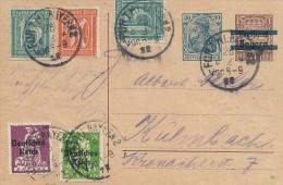 Uprated Stationery  -  Bavaria -Germany.   S-1668 - Entiers Postaux