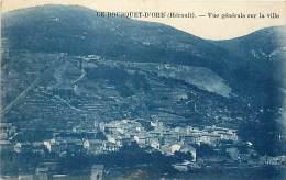 Ref D913- Herault -  Le Bousquet D Orb - Vue Generale Sur La Ville  - Carte Bon Etat - - France