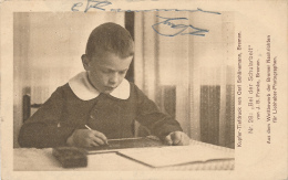 GETTORF - 1915 , Bei Der Schularbeit - Ecoles