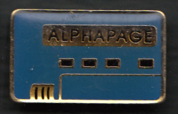 2 Pin´s  :   F.T. ALPHAPAGE - France Telecom