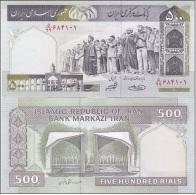 Iran - 500 Rials UNC Ukr-OP - Iran