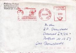 SKI ALPIN-ALPINE SKIING-SCI ALPINO, W.Germany, 1988, RED METER !! - Ski