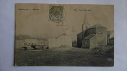 Lamorteau 1909 - L'eglise.......en L'etat - Belgique