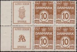Danemark 1930. Timbres Publicitaires. Huile Alimentaire, Cygne, Serpent, Chimie, Médicaments, Plantes Médicinales - Cisnes