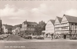 Soest -Alte Häuser Am Markt - 1961 - Soest