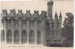Cpa BOULOGNE LA GRASSE Le Chateau (coté Est ) - Francia