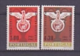 Portugal 1962 Benfica European Champion Football 2v ** Mnh (19383) - 1910-... Republic