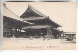 ASIA Asie JAPAN Japon - KYOTO Kioto - The Higashi Hongwanji - CPA ( Antique Postcard ) RARE (0 Sur Le Site) - - Kyoto