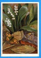 R297, Nymphalidae, Mauerfuchs, Satyre, 625, Fantaisie, GF, Circulée 1942 - Vlinders