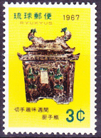 Ryu-Kyu-Inseln  - Woche Der Philatelie/Week Of Philately/Semaine De La Philatélie (MiNr: 185) 1967 - Postfr. MNH - Ryukyu Islands