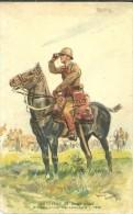 MILITARIA ARTILLERIE DE CAMPAGNE OFFICIER TENUE DE CAMPAGNE  1938 CAVALIER - Weltkrieg 1939-45