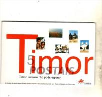 TIMOR - -CTT CORREIOS - LOT 6 POSTAIS DOS CORREIOS PORTUGAL - Timor Orientale