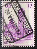 PIA - BEL - 1953-57 : Stazione Bruxelles-Midi - (Yv 348) - 1952-....