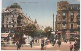 SWITZERLAND - ZURICH - BAHNHOFSTRASSE - EDIT CARL KUNZLI - 1910s  ( 17 ) - Unclassified