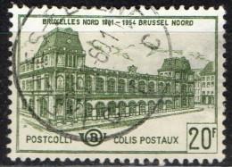 PIA - BEL - 1959-63 : Stazione Bruxelles-Nord  - (Yv 366) - 1952-....