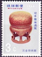 Ryu-Kyu-Inseln  - Woche Der Philatelie/Week Of Philately/Semaine De La Philatélie (MiNr: 175) 1966 - Postfr. MNH - Ryukyu Islands