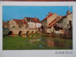 21 - IS sur TILLE - Le Pont de Langres.