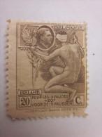 Timbre Belge émis Le 20/05/1922 (œuvre Nationale Des Invalides De Guerre)Catalogue Officiel De Belgique COB - N°189 - 1922-1927 Houyoux