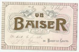 CPA  SEINE Et MARNE - 77 - Un Baiser De Boissy Le Châtel - Sonstige Gemeinden