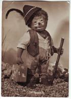 CP17 Mecki Puppenfilm Ich Komme ! Suitcase Koffer /broken/ - Mecki