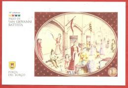 ITALIA REPUBBLICA CARTOLINA - 2012 - 18° Palio San Giovanni Battista Fabriano Porta Del Borgo - Primitivo Manduria - 6. 1946-.. Repubblica