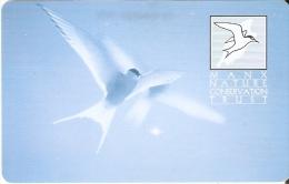 MAN-105 TARJETA DE LA ISLA DE MAN DE UN PAJARO (BIRD) - Isla De Man