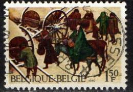 PIA - BEL : 1969 : Natale - (YV 1517) - Usati