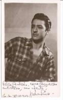 JUAN LUNA ACTOR ARTISTE ARTISTA ARTIST PRINTED AUTOGRAPH AUTOGRAPHE IMPRIMÉ VINTAGE 1949 GECKO - Autographs