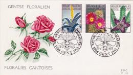 1315 1317 NAT P152 FDC   Floralies Gantoises III 13-2-1965 1808 Gent €1,75 - FDC