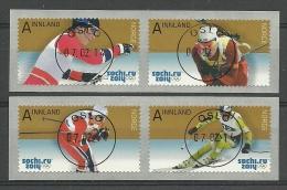 Noorwegen 2014 Ol. Wintergames Sochi 1790/1793 Central Cancel //0 - Used Stamps