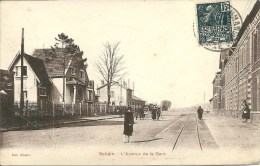 AISNE - Bohain - L'Avenue De La Gare - Autres Communes