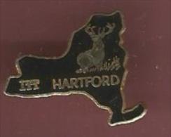 41809-Pin's.International Telephone And Telegraph .ITT Hartford.cerf - Marques