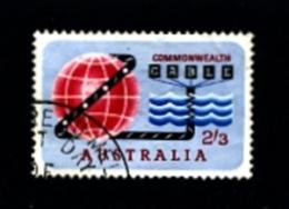 AUSTRALIA - 1963  OPENING OF COMPAC  FINE USED - 1952-65 Elizabeth II: Ediciones Pre-Decimales