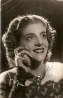 DELIA RIGAL SINGER SOPRANO DRAMATIC ARTISTE ARTISTA ARTIST AUTOGRAPH AUTOGRAPHE FOTO: WILENSKI BUENOS AIRES 1950 GECKO - Autografi